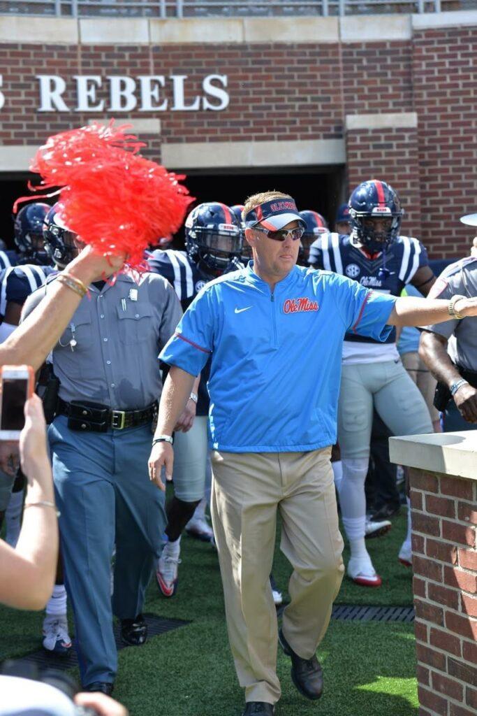 Coach Hugh Freeze