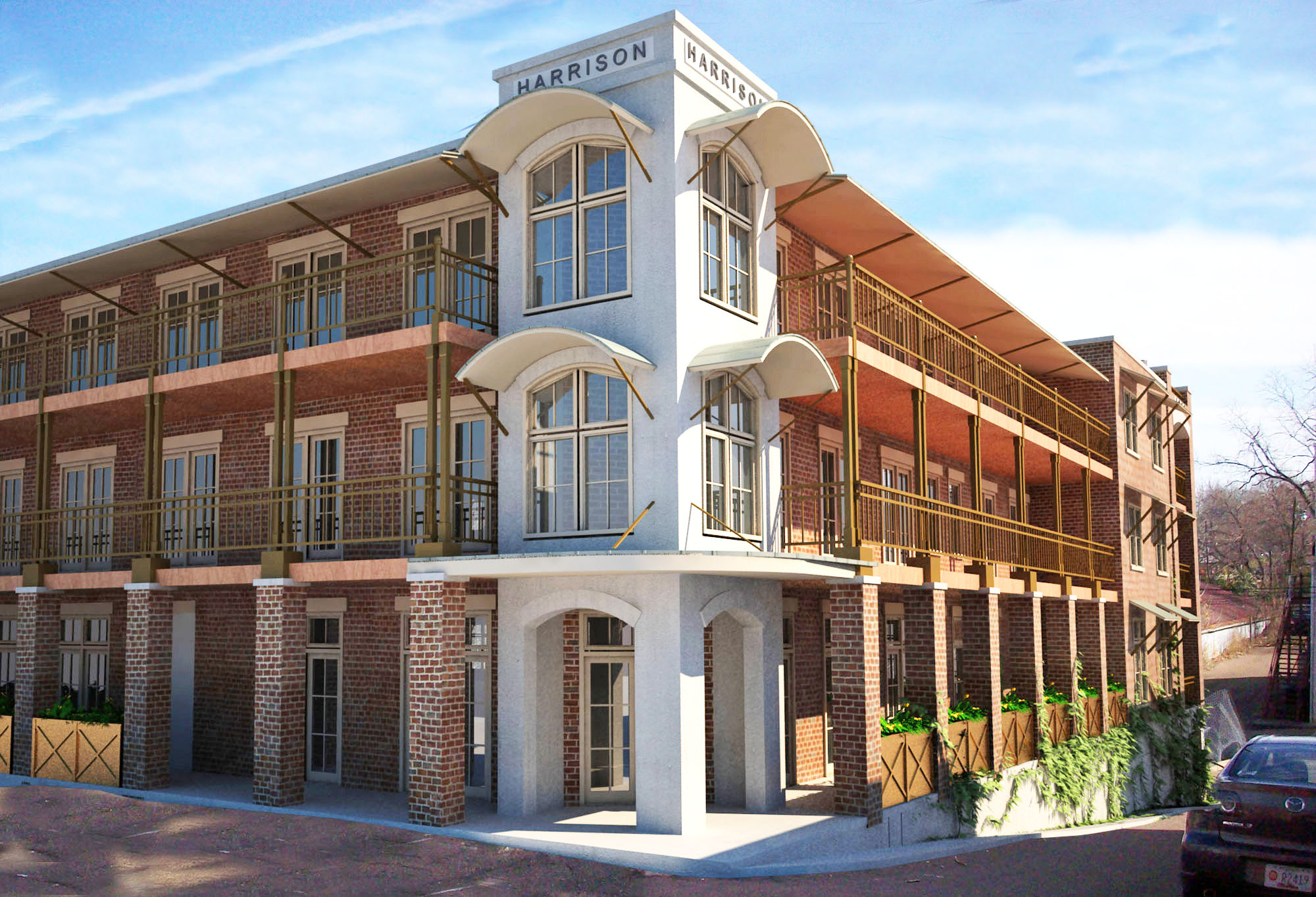 22 new luxury condominiums coming to oxford 39 s historic - One bedroom apartments in oxford ms ...