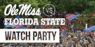 Ole Miss vs FSU Watch Party