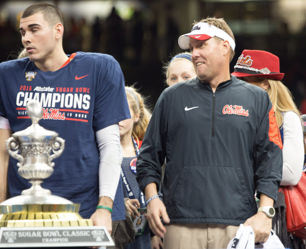 NCAA slaps Hugh Freeze with one-year show-cause