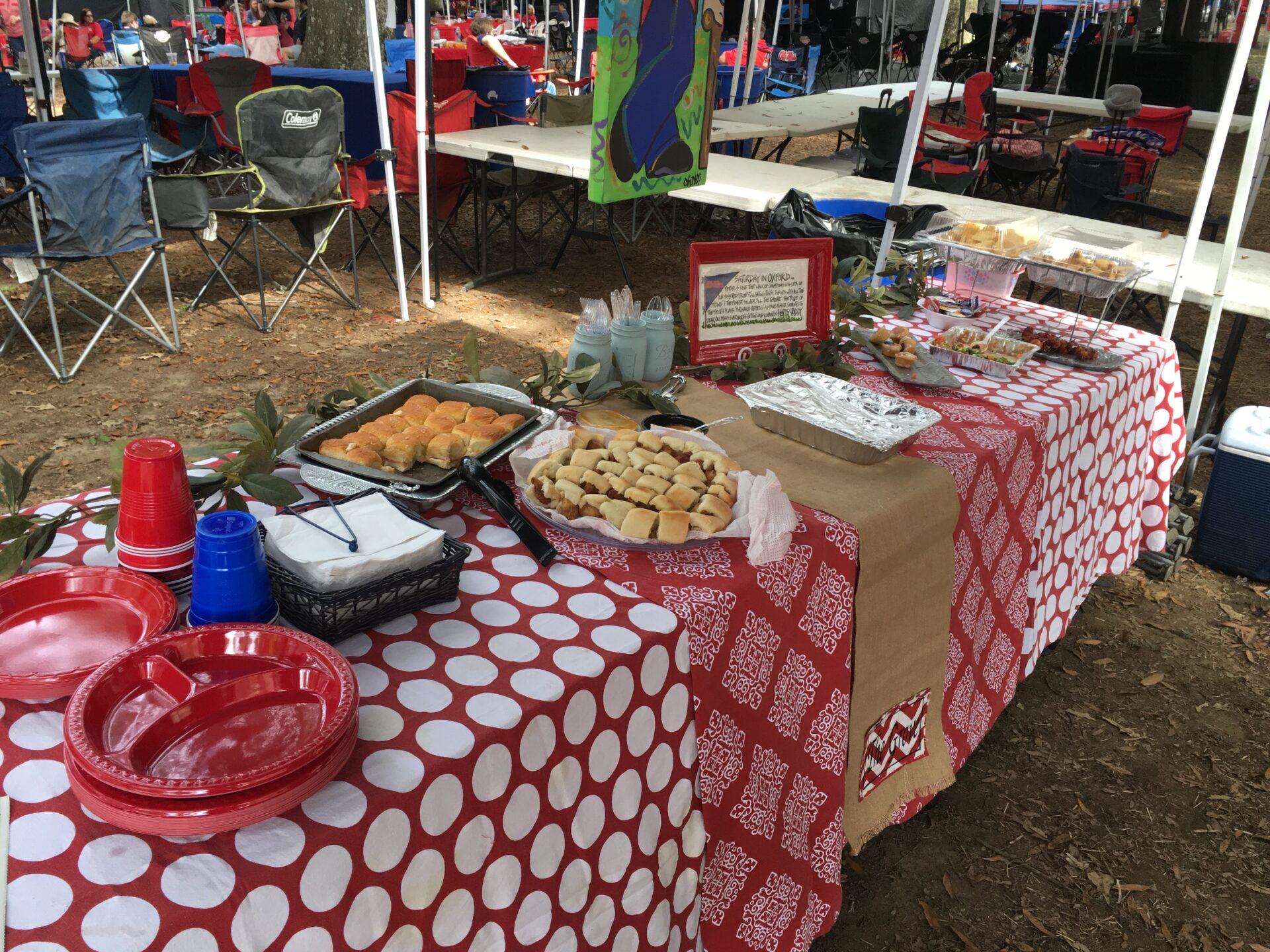 Ole miss tailgating traditions our 10 acres of heaven tent enjoy our previous tailgating traditions stories from this season arubaitofo Gallery