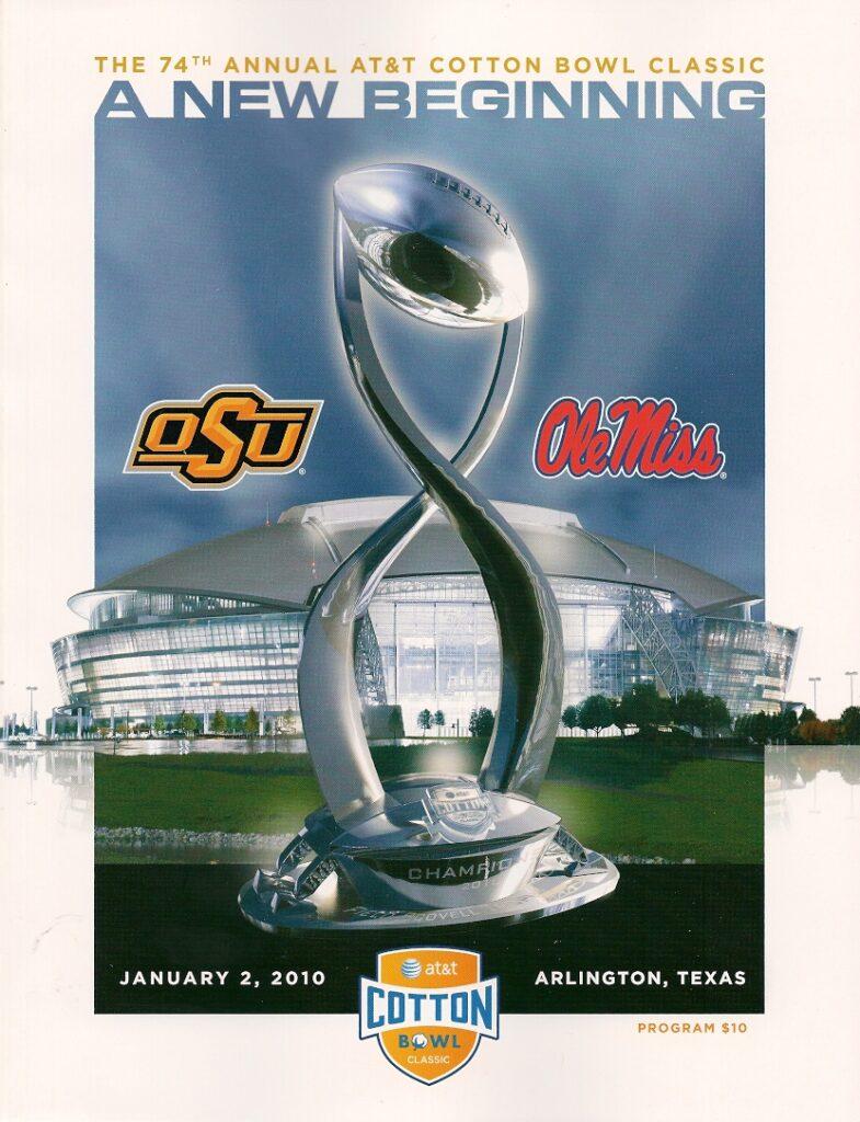 2009 Cotton Bowl Program