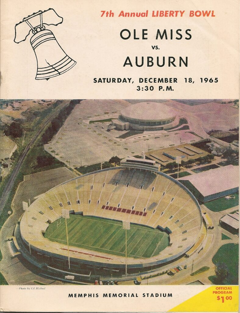 1965 Liberty Bowl Program