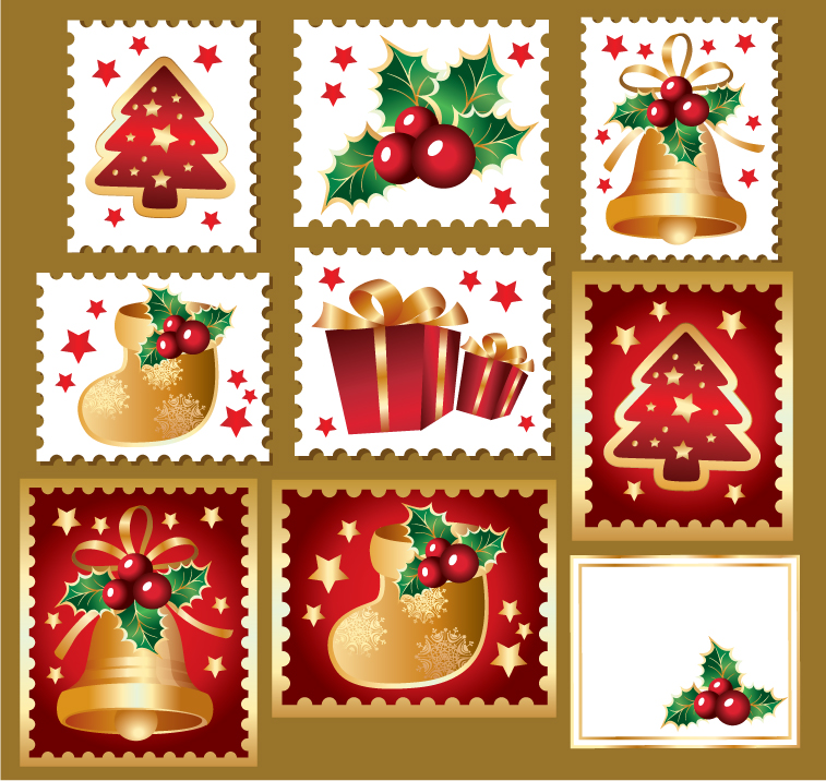 Christmas Stamps.Reflections The Post Office And Christmas Stamps