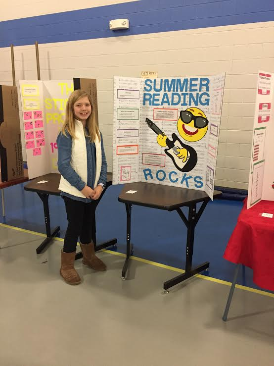 """Summer Reading Rocks"" - Ann Hunter Bigham"