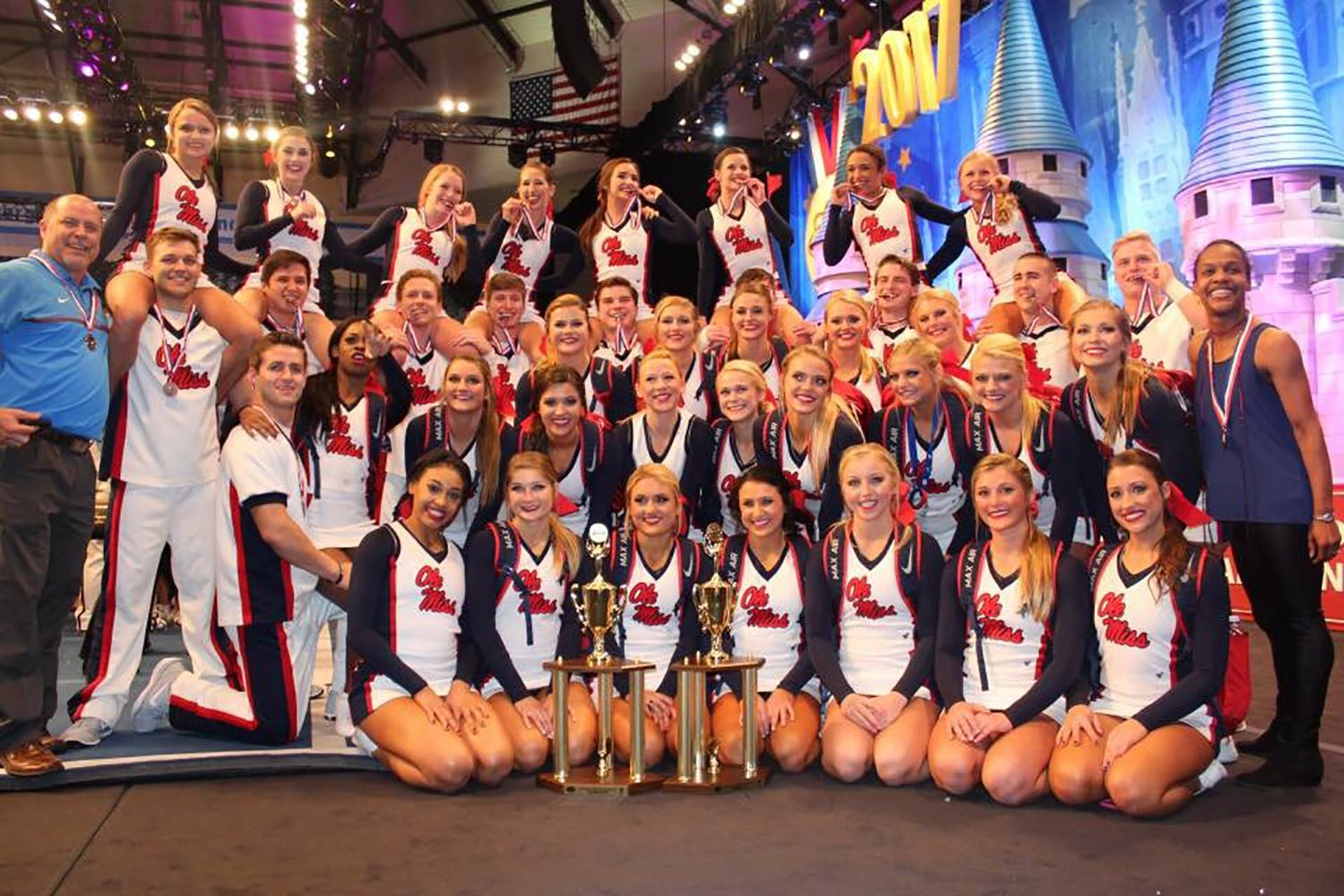 Ole Miss Cheer Wins Big at National Competition in Orlando