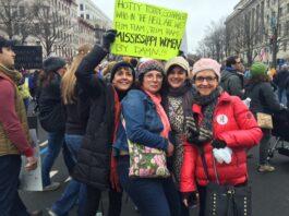 Oxford, Mississippi Women March Washington D.C.