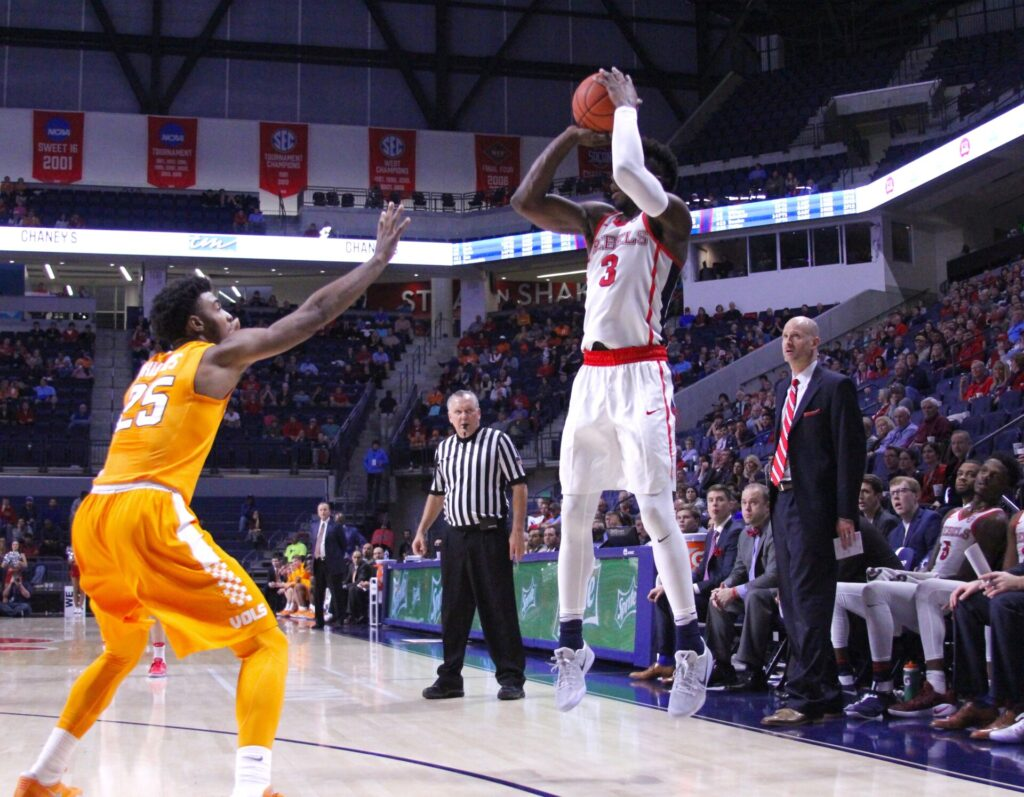 Rebels overcome 23-point deficit for historic win over Auburn