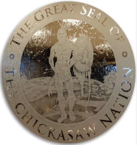 Image result for Great Seal of Chickasaw Nation