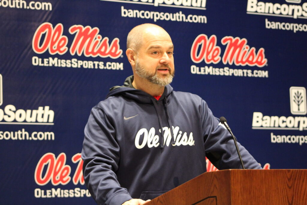 Ole Miss Volleyball Head Coach Steven McRoberts