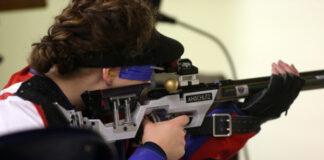 Ole Miss Rifle Team competes