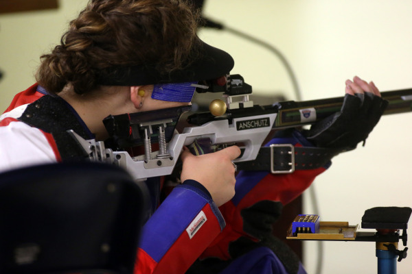 Ole Miss Rifle Team competes