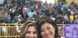 Brittany Wagner and Juju Chang