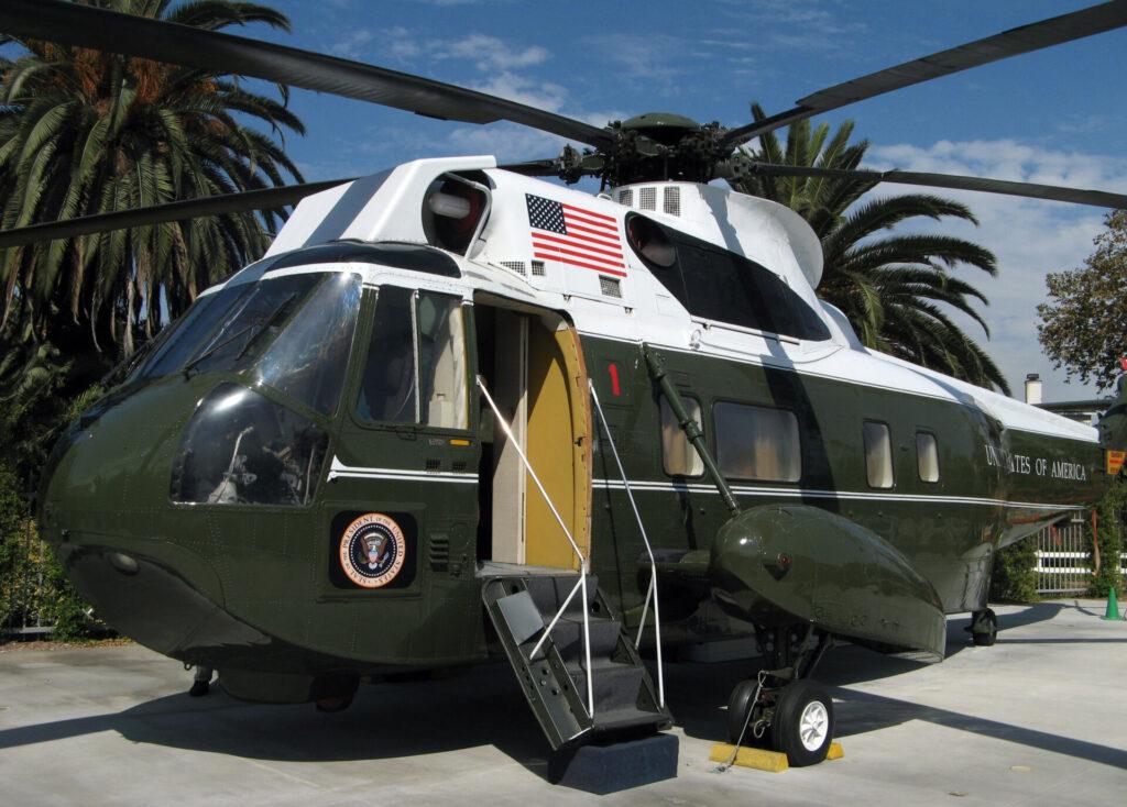 Nixon's Sea King helicopter