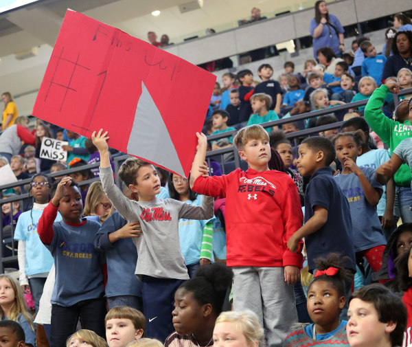 Student Day Ole Miss Women's Basketball