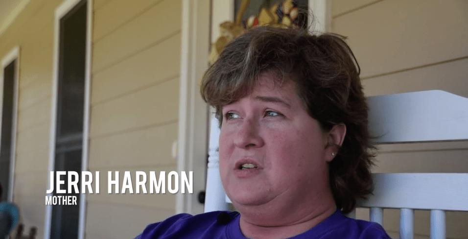 Jerri Harmon mother of Sarah Harmon
