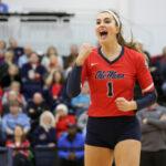 Lauren Bars Ole Miss volleyball