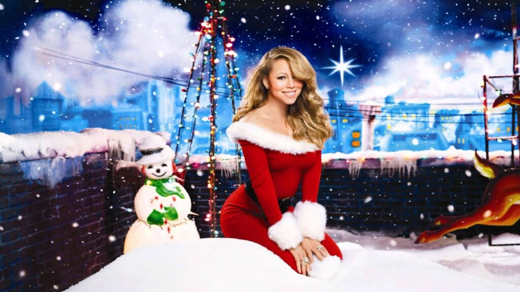 mariah carey has the hottest christmas song of 2017 on itunes right now with all i want for christmas is you but wham isnt far behind - Top Christmas Song