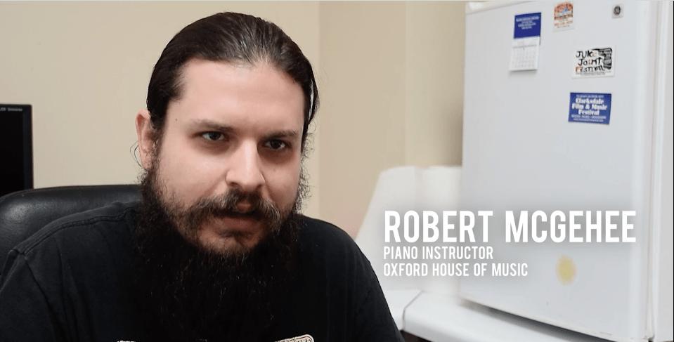 Robert McGehee music teacher