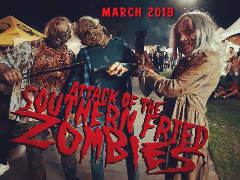 Southern Fried Zombies scene