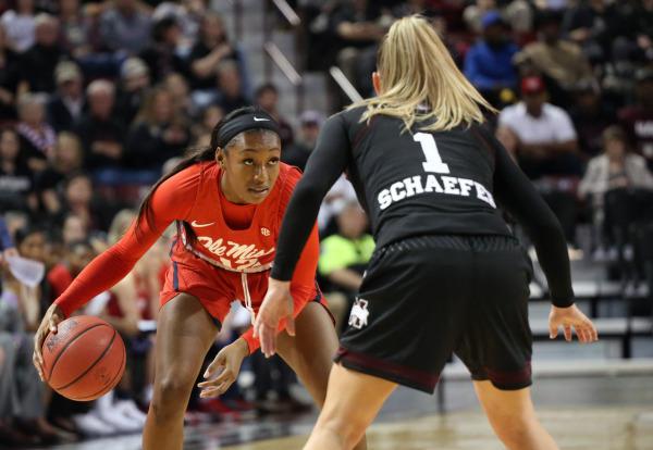 Barbara Johnson of Ole Miss women's basketball