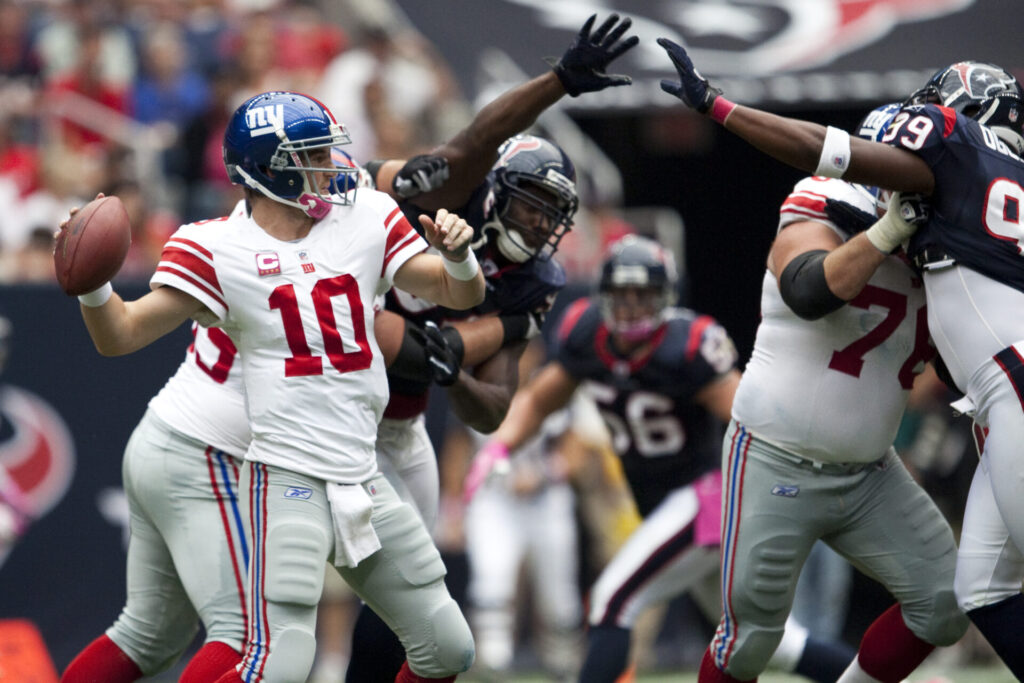 Eli Manning vs. Houston Texans