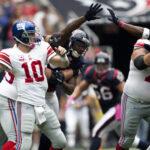 Eli Manning vs. Houston Texans