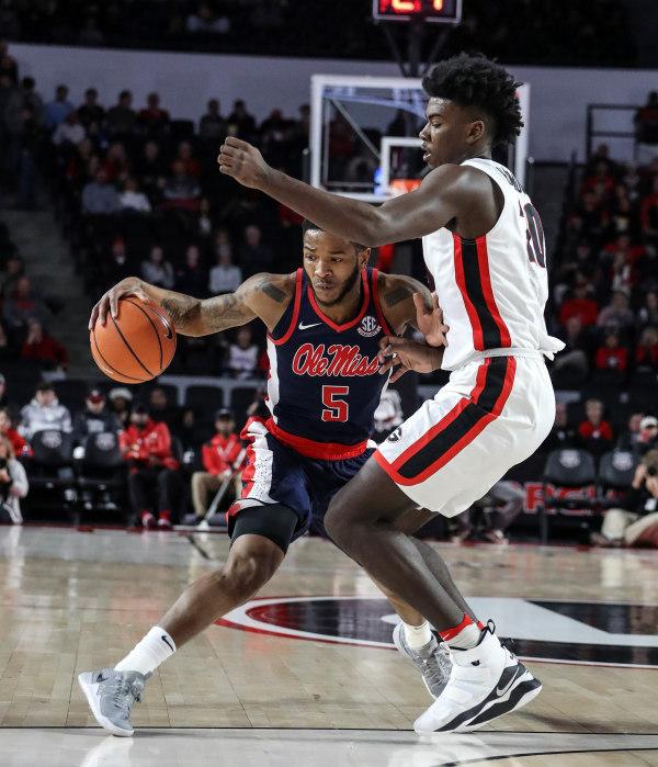 Ole Miss basketball vs. Georgia