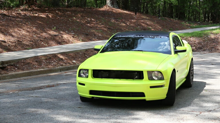 Video Does This Oxonian Drive The Loudest Mustang In Mississippi