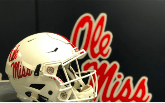 b73ec31d1 Ole Miss Football Opens Season with New White Helmets - HottyToddy.com