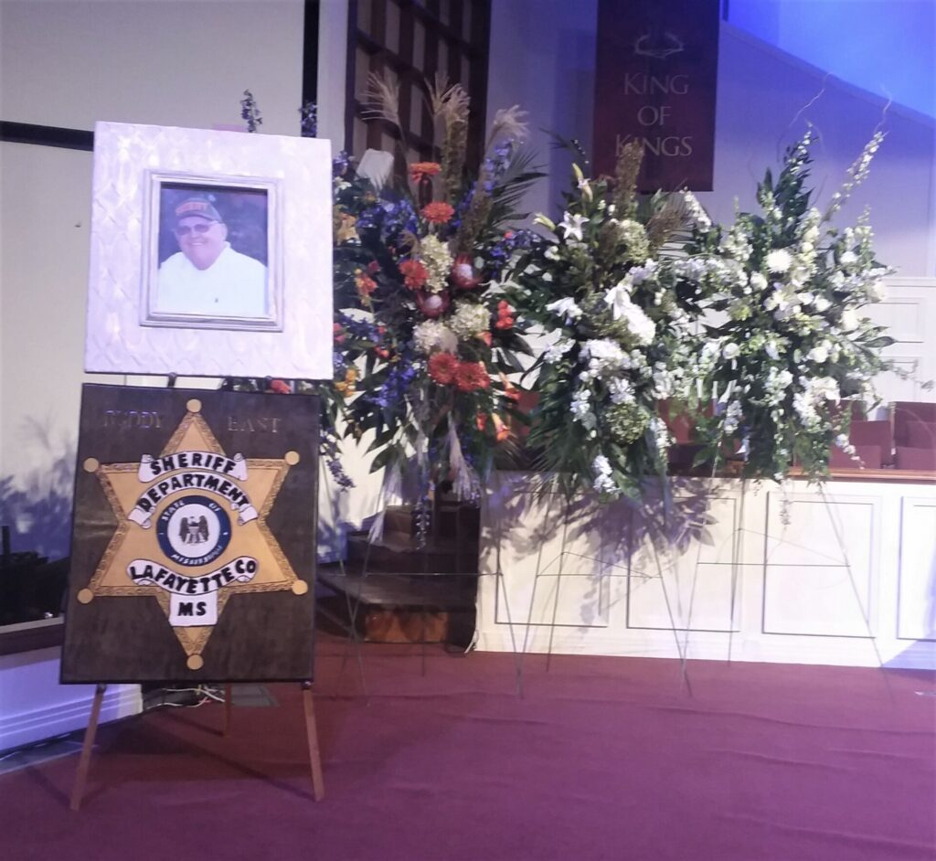 Thousands say final goodbyes to lafayette sheriff buddy east the funeral for sheriff fd buddy east was held friday at north oxford baptist church photo by alyssa schnugg izmirmasajfo