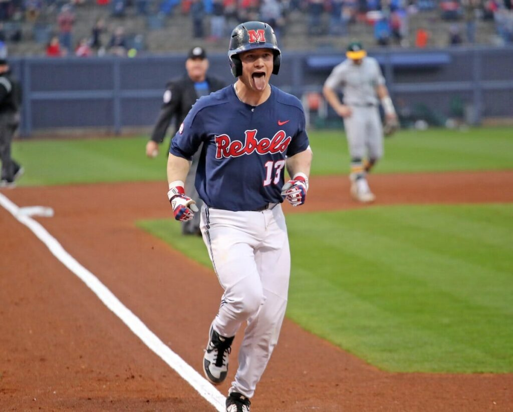 the latest 04b0e 5f31a Ole Miss Baseball Opens Season with a Victory - HottyToddy.com